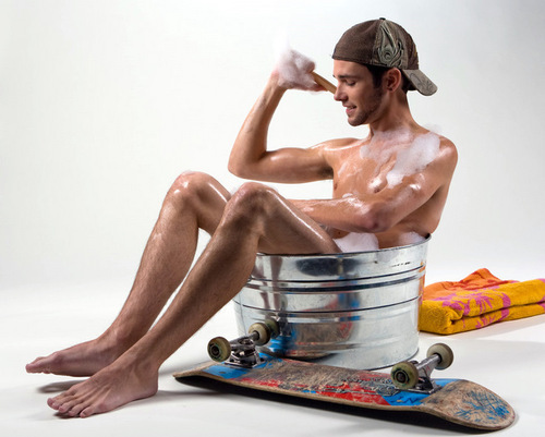Guy in a Tub