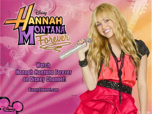 Hannah Montana Forever Exclusive Merchandise achtergronden door dj!!!
