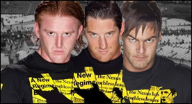 Heath Slater,Wade Barrett,and Justin Gabriel