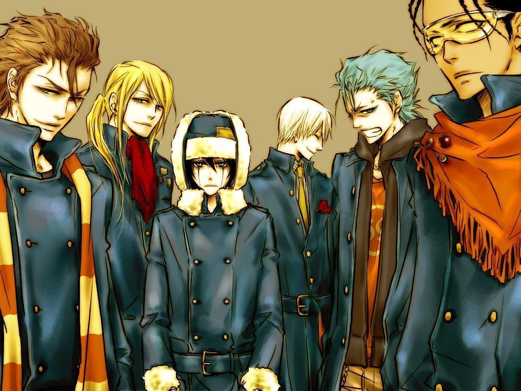 картинки аниме мужчин:
