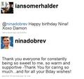 Ian/Nina - Twitterღ