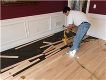 Installing wood floors