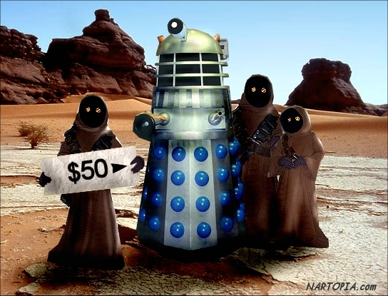 Jawa Robot Reject Sale 01 La Guerra De Las Galaxias Foto