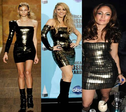 Jennifer Lopez wallpaper containing a leotard, tights, and a bustier titled Jennifer Lopez and Shakira: We are not anorexic!