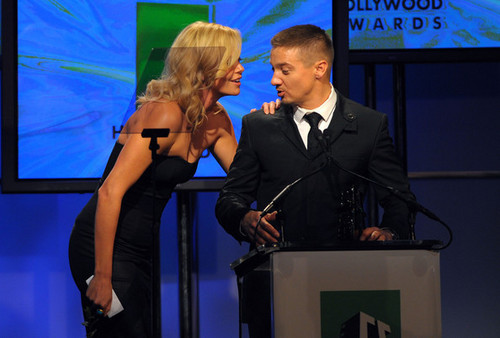 Jeremy & Charlize Theron @ 13th Annual Hollywood Awards Gala Ceremony - 2009