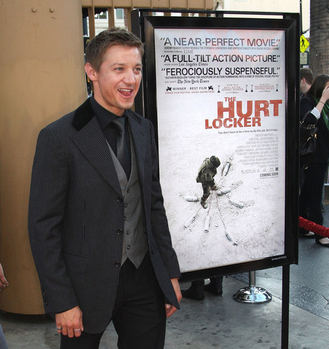 Jeremy Renner @ Screening of The Hurt Locker - 2009