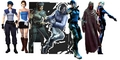 Jill Valentine through the years
