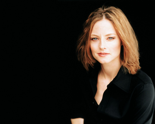 Jodie Foster fond d'écran possibly containing a well dressed person and a portrait entitled Jodie