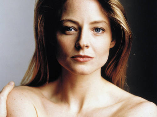 Jodie Foster achtergrond with a portrait and skin titled Jodie
