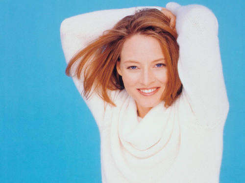 Jodie Foster fond d'écran with a portrait called Jodie