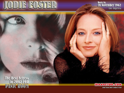 Jodie Foster fond d'écran with a portrait and animé entitled Jodie