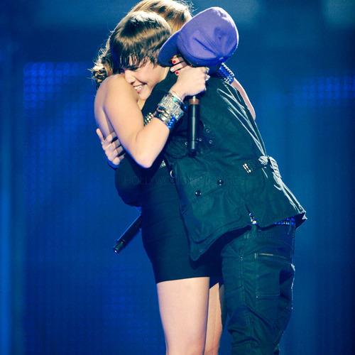 Justin & Miley!