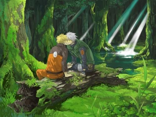 kakashi and naruto