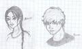 Katniss and Peeta-sketch