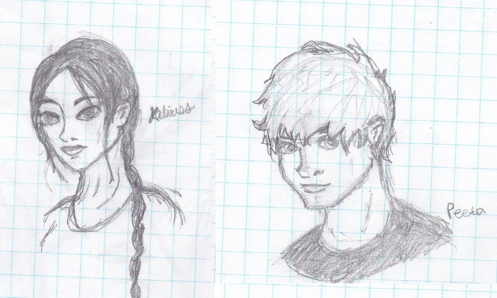 Hunger Games Peeta Drawing How To Draw Kat...