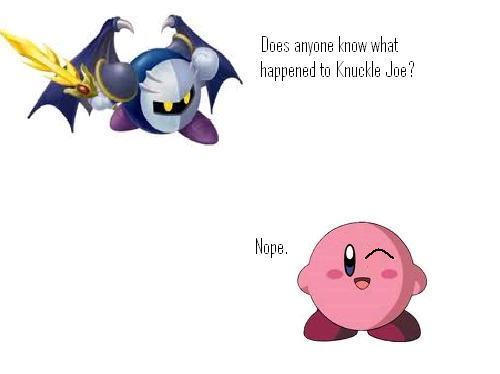 Kirby! Not again!!