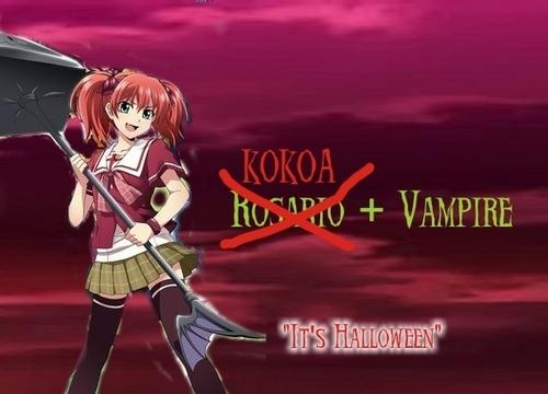 Kokoa + Vampire (Rosario + Vampire 3)
