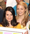 L & D - lea-michele-and-dianna-agron photo