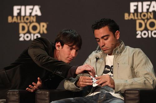 L. Messi (Ballon d'Or Gala 2010)