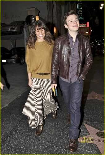 Lea Michele & Chris Colfer: 'Hair' Performance Pals