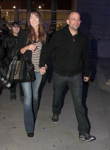 Leaving Staples Center in LA [January 9, 2011]
