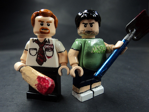 Shaun of the Dead वॉलपेपर titled Lego Shaun of the Dead