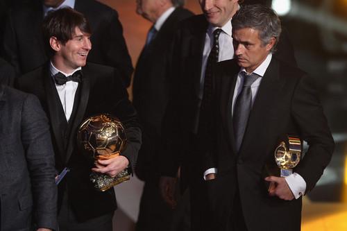 Lionel Messi wins 2010 Fifa Ballon d'Or!