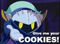 MK wants COOKIES! - meta-knight fan art