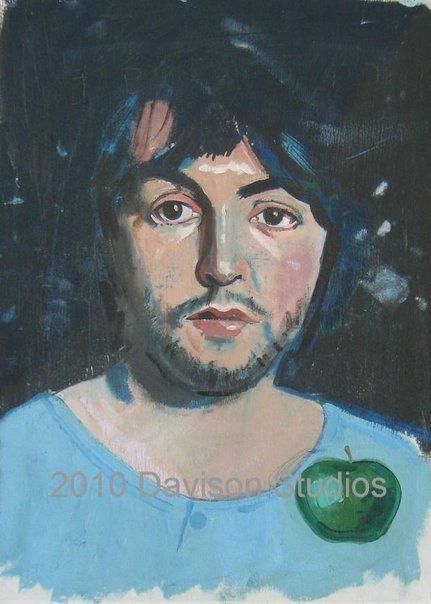 Mac',oil on panel sa pamamagitan ng Paul Davison