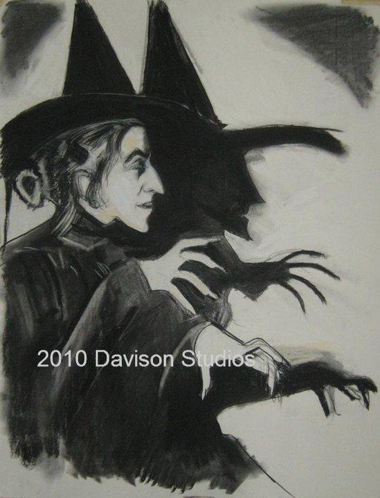 Margaret Hamilton,drawing par Paul Davison