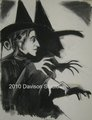 Margaret Hamilton,drawing door Paul Davison