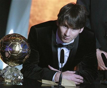 Messi Speech at 2010 FIFA Ballon d'Or Gala