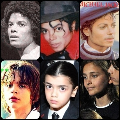 Michael and his Kids - One Face
