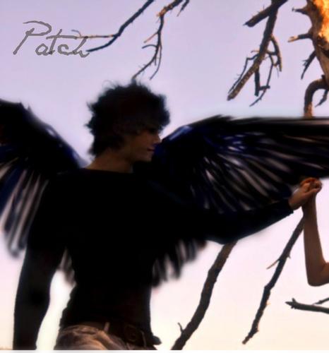 Model Posed for Patch Cipriano arte de los Fans