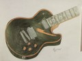My Art Work For Nick Wiggins Its A Zombie Guitar