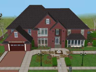 My house the sims 2 photo 18304339 fanpop for Minimalist house sims 2