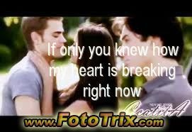 My hart-, hart is breaking