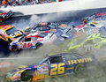 NASCAR Crash Big One - nascar photo