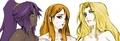 Orihime/Rangiku/Matsumoto/Yoruichi..Yuri