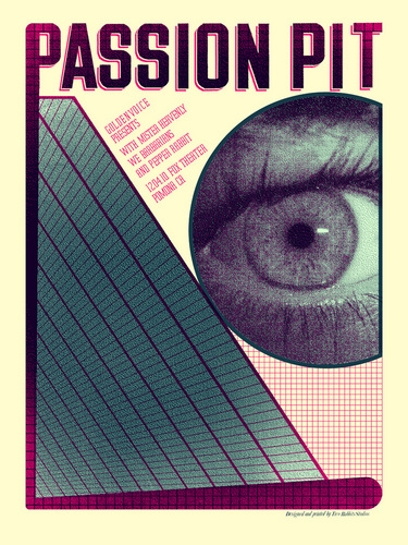 Passion Pit Rock Poster