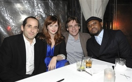 Peter Jacobson, Amber Tamblyn, Robert Sean Leonard & Omar Epps @ the 2011 fuchs All-Star TCA Party