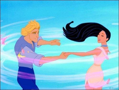 Pocahontas & John Smith