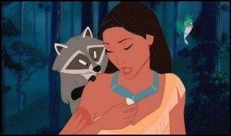 Pocahontas , Meeko & Flit