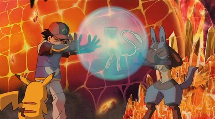 Pokemon Lucario And The Mystery Of Mew Pokemon Aura Guardians