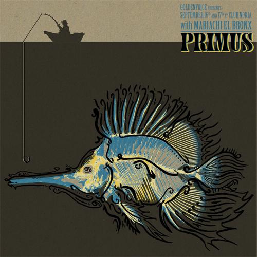 Primus Rock Poster