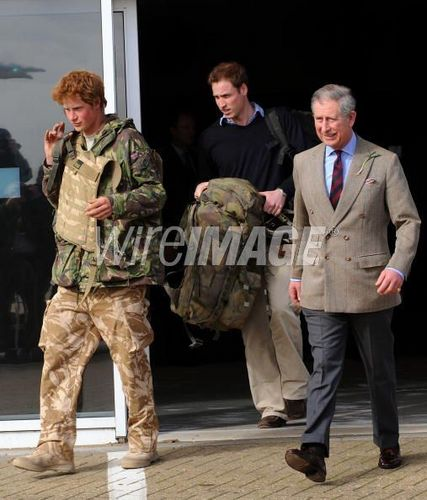 Prince Harry Returns from Serving in Afghanistan