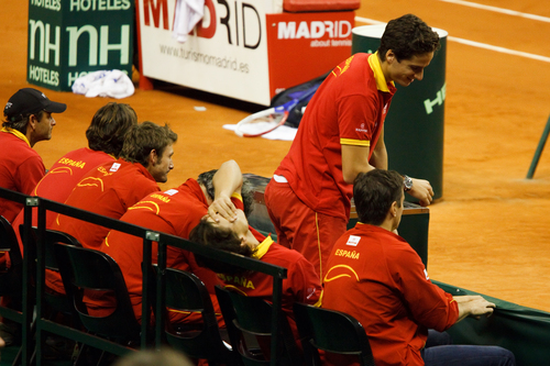 Rafa said: God,Feli,you have so big butt!