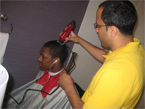 Rajon Rondo haircut