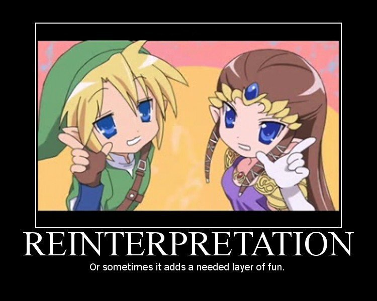 Reinterpretation