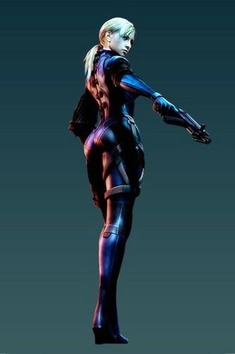 Resident Evil 5 Purple Battle Suit